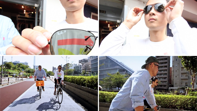 Ray-Ban×EYESCREAM.JP『Talkin' All About Bicycle』